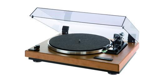 platine vinyle retro bois