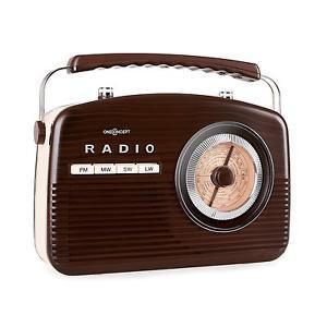 poste radio style vintage