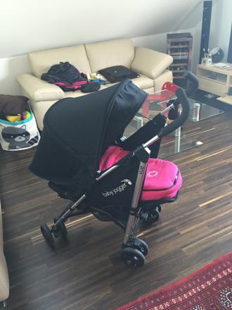 poussette baby jogger vue