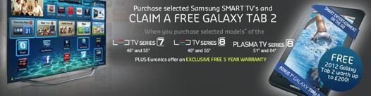 promo smart tv samsung