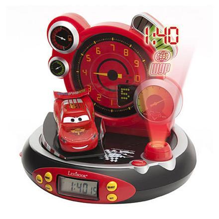 radio reveil projecteur cars