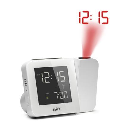 radio réveil projecteur d heure