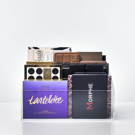 rangement palette maquillage