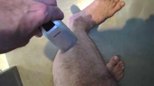 rasoir electrique jambes homme