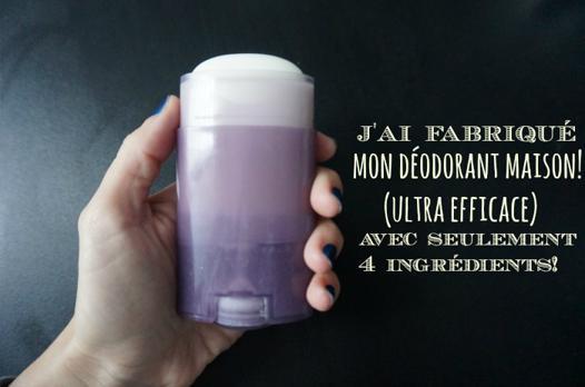 recette déodorant