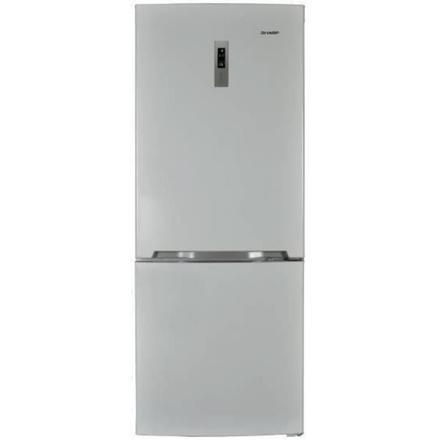 refrigerateur combine inox