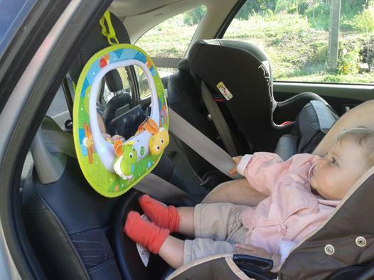 rétroviseur bébé dos route