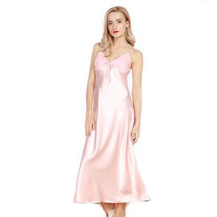 robe de nuit longue satin