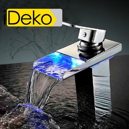 robinet led cascade