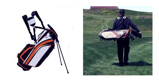 sac golf trepied