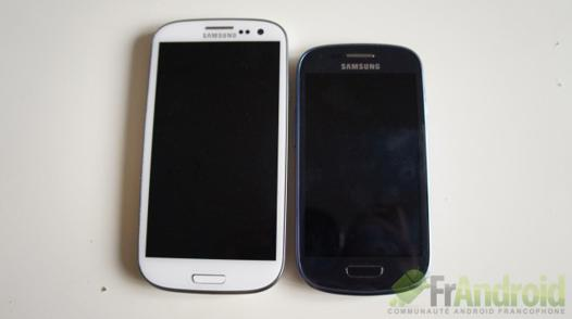 samsung s3 taille
