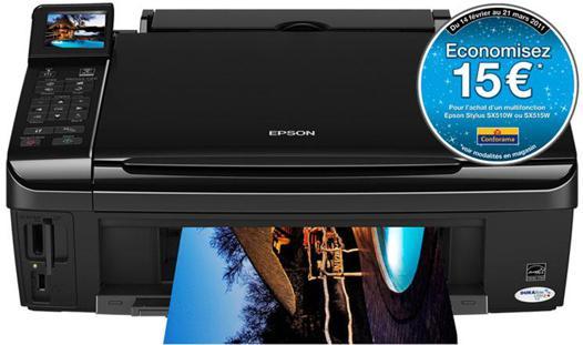 scanner avec imprimante epson