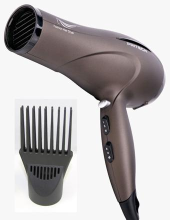 sèche cheveux avec peigne afro