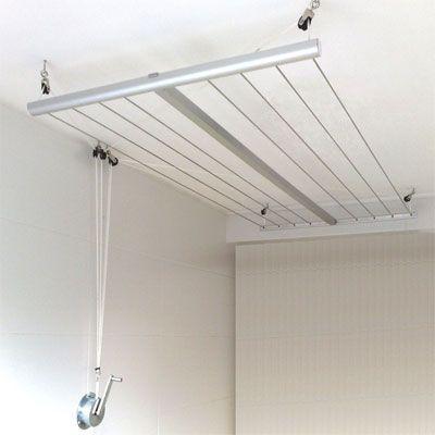 seche linge plafond