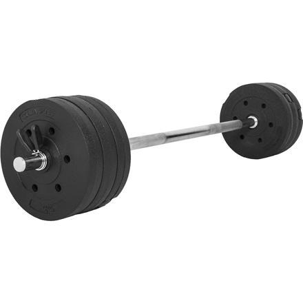 set barre de musculation
