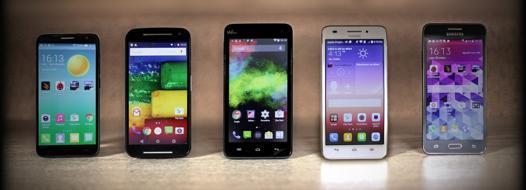 smartphone à moins de 200 euros