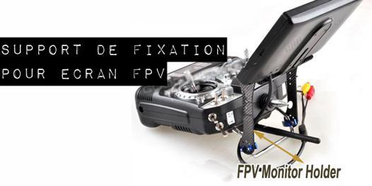 support ecran fpv