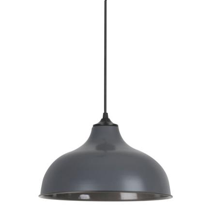suspension luminaire gris
