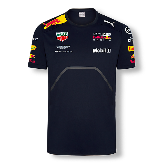 t shirt red bull racing