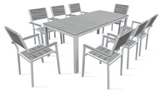 table de jardin 8 places