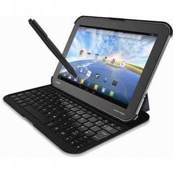 tablette avec clavier et stylet