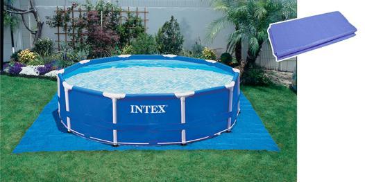 tapis de sol pour piscine hors sol intex