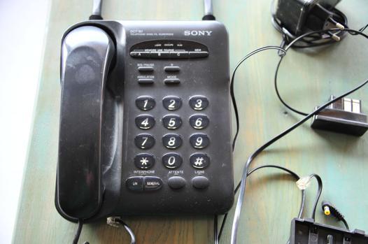 telephone fixe sony