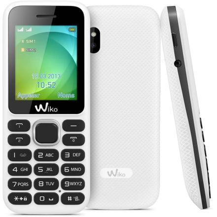 telephone wiko blanc
