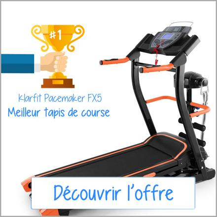 test tapis de course