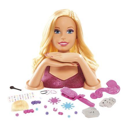 tete de barbie a coiffer