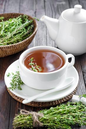 thé au thym