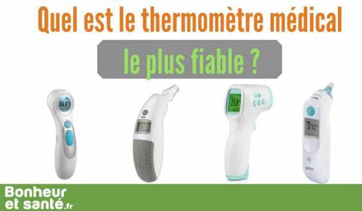 thermomètre le plus fiable