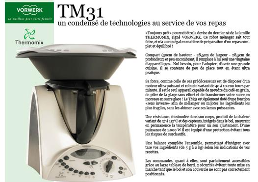 thermomix puissance