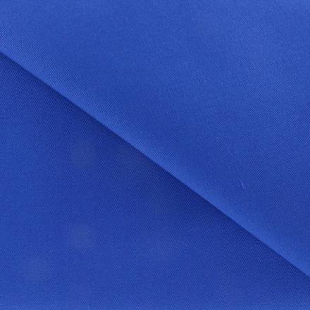 tissu coton bleu