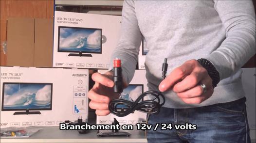 tv camion 24 volts