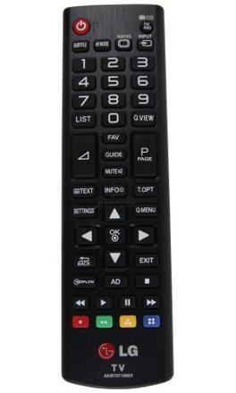 tv lg telecommande