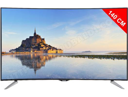 tv panasonic 4k incurvé