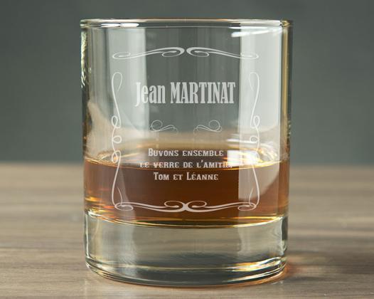verres à whisky personnalisés