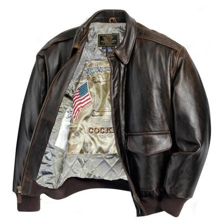 veste aviateur cuir