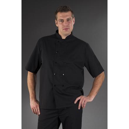 veste cuisine noire