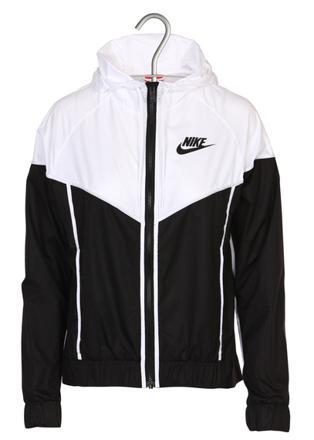 veste nike blanche et noir
