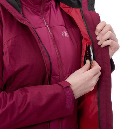 veste randonnée femme 3 en 1