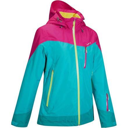 veste ski femme bleu