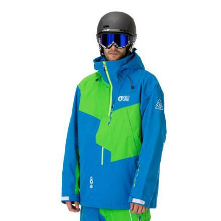 veste ski homme bleu