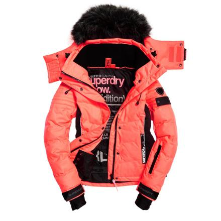 veste ski superdry femme