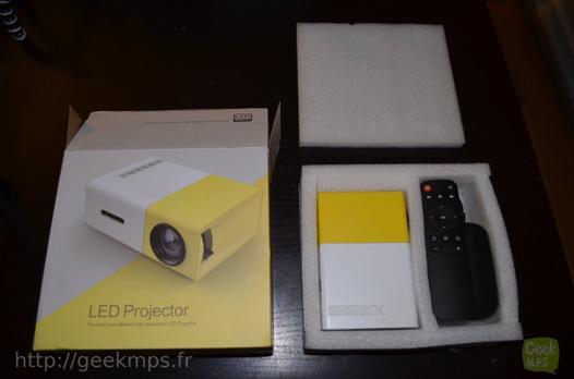 video projecteur test