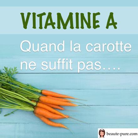 vitamine a carotte