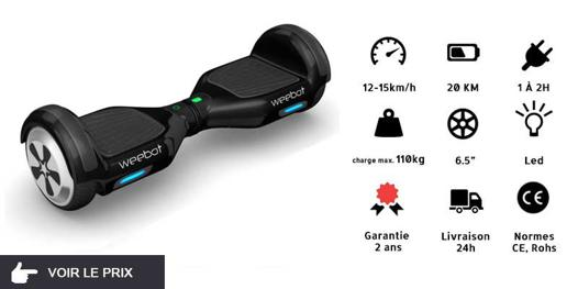 vitesse hoverboard