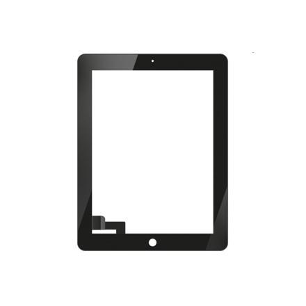 vitre tactile ipad 2 noir
