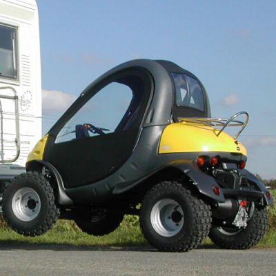 voiture légère pour camping-car